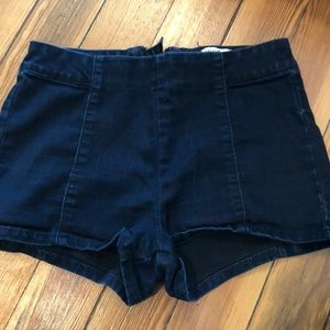 Forever 21 high waisted dark blue/ navy jeans